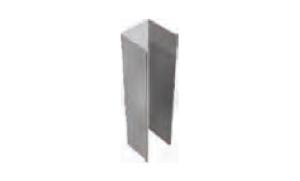 Guide per tapparelle in ferro zincate Pracal