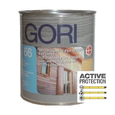 GORI 66 Impregnante di finitura per legno esterno