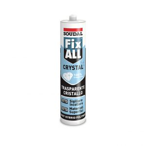 Sigillante MS-Polymer Soudal Fix All Crystal