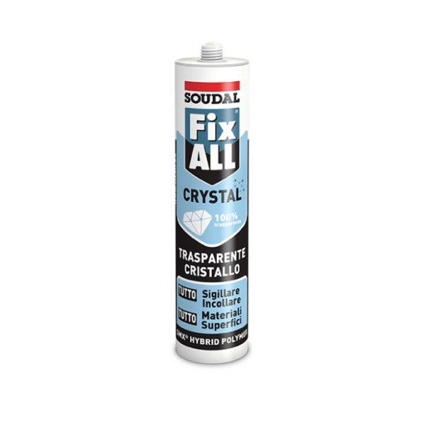 Sigillante MS-Polymer Soudal Fix All Crystal