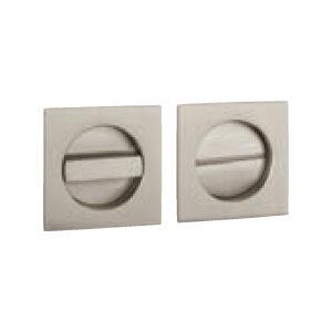 Placche quadrate Reguitti con nottolino ed incontro R60CP00Q
